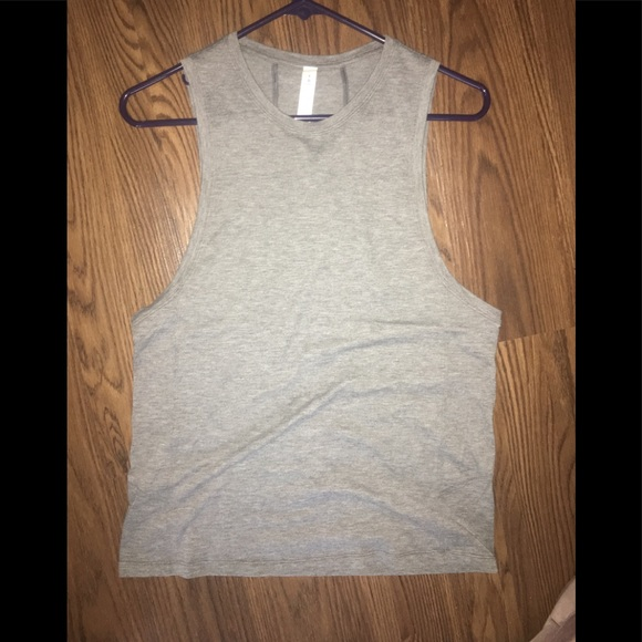 lululemon athletica Tops - Grey box it out tank